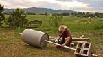How to Build a Compost Tumbler out of Re-purposed Materials